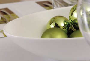 """Новогодняя сервировка стола - """"Дыхание природы"""""""
