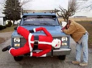 """Не забудьте о скромном подарке, который можно подарить и Деду Морозу в благодарность - машину """"аля-Бентли""""."""