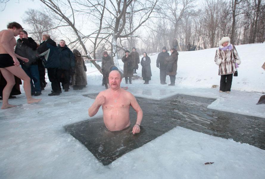 18.01.2010, Россия, Москва. Крещение
