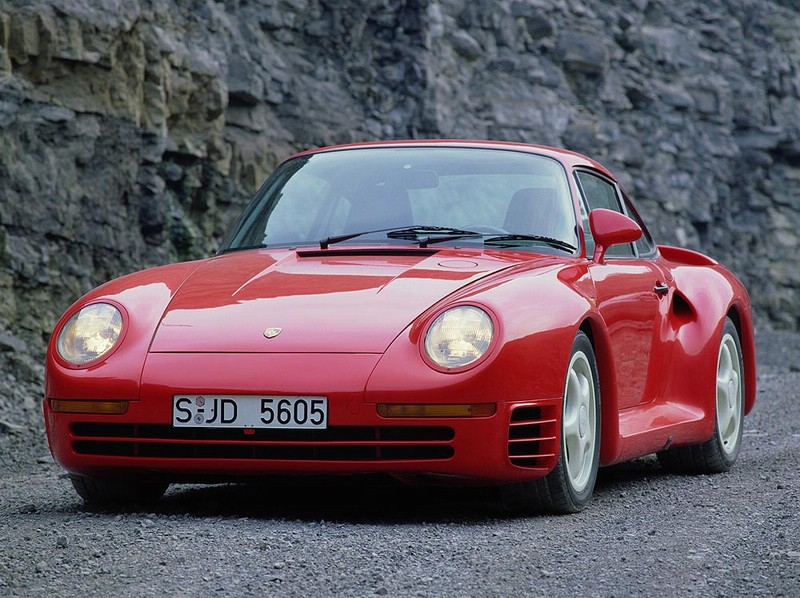 Porsche 959 купе, 1988