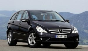 Mercedes-Benz R-Class. План: 1800 в год. Продано: 3052 авто за 3 года