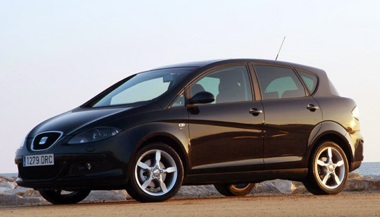 Seat Toledo. План: 2500 в год. Продано: 3264 авто за 4 года