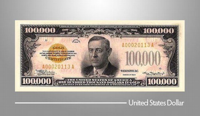 100.000 Долларов США