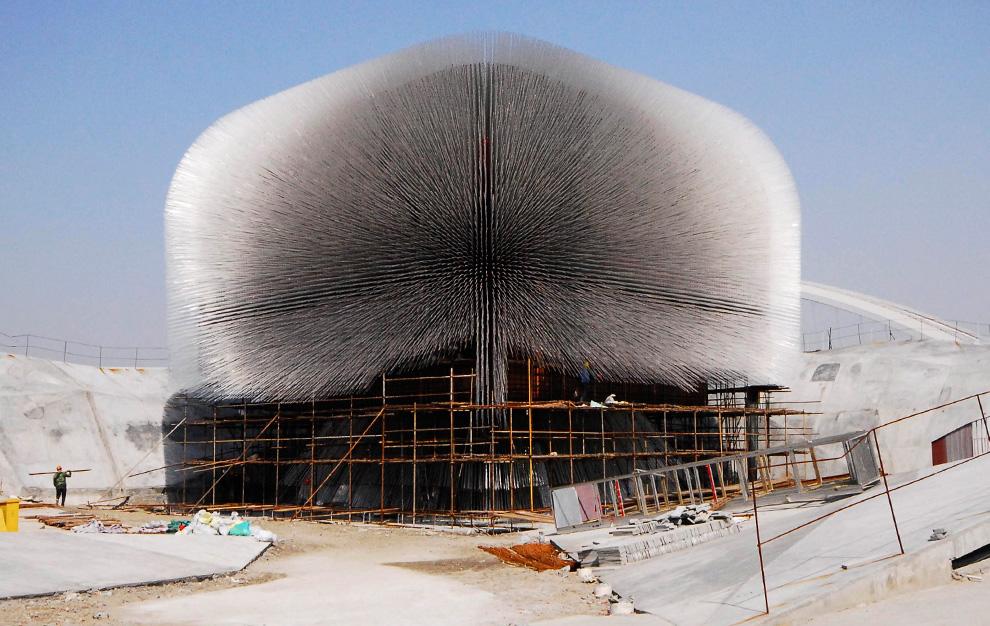 Павильон Великобритании на Всемирной выставке в Шанхае
