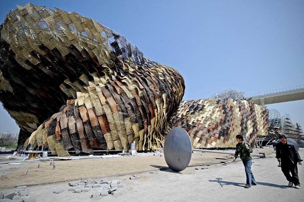 Павильон Испании на Всемирной выставке в Шанхае