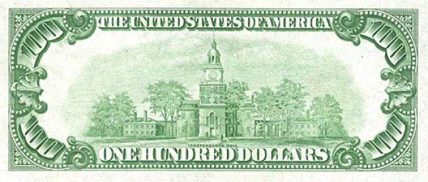 100 долларов США образца 1928 года