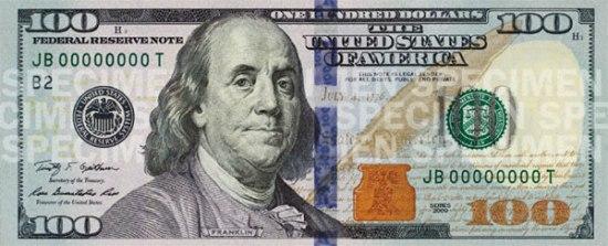 Как изменились 100$ за 150 лет