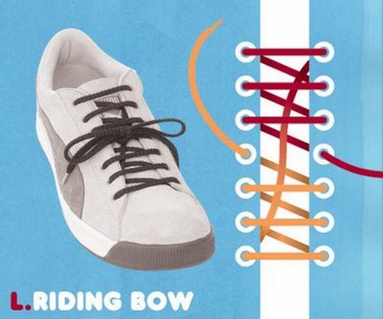 как завязать шнурки