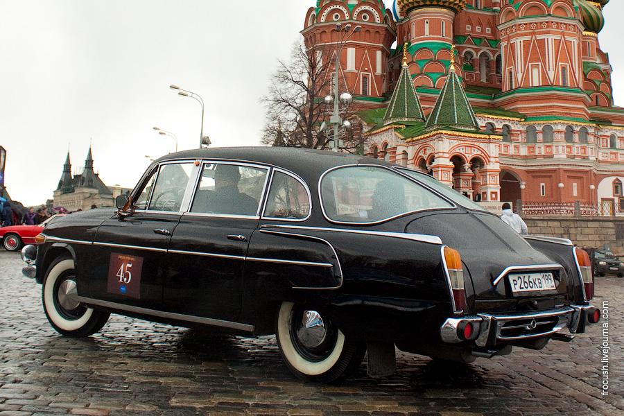 Московское ралли на классических автомобилях, открытие сезона