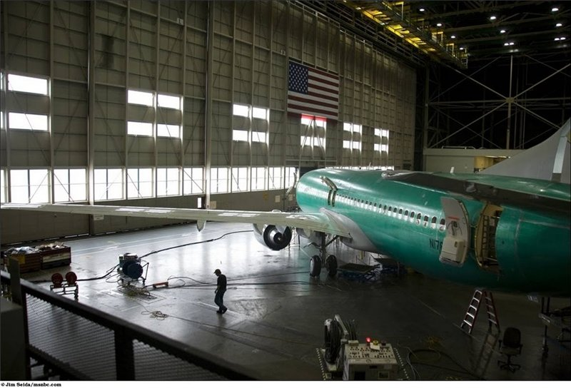 Требуется всего 11 дней чтобы голый фюзеляж стал самолётом и отправился на летные испытания.