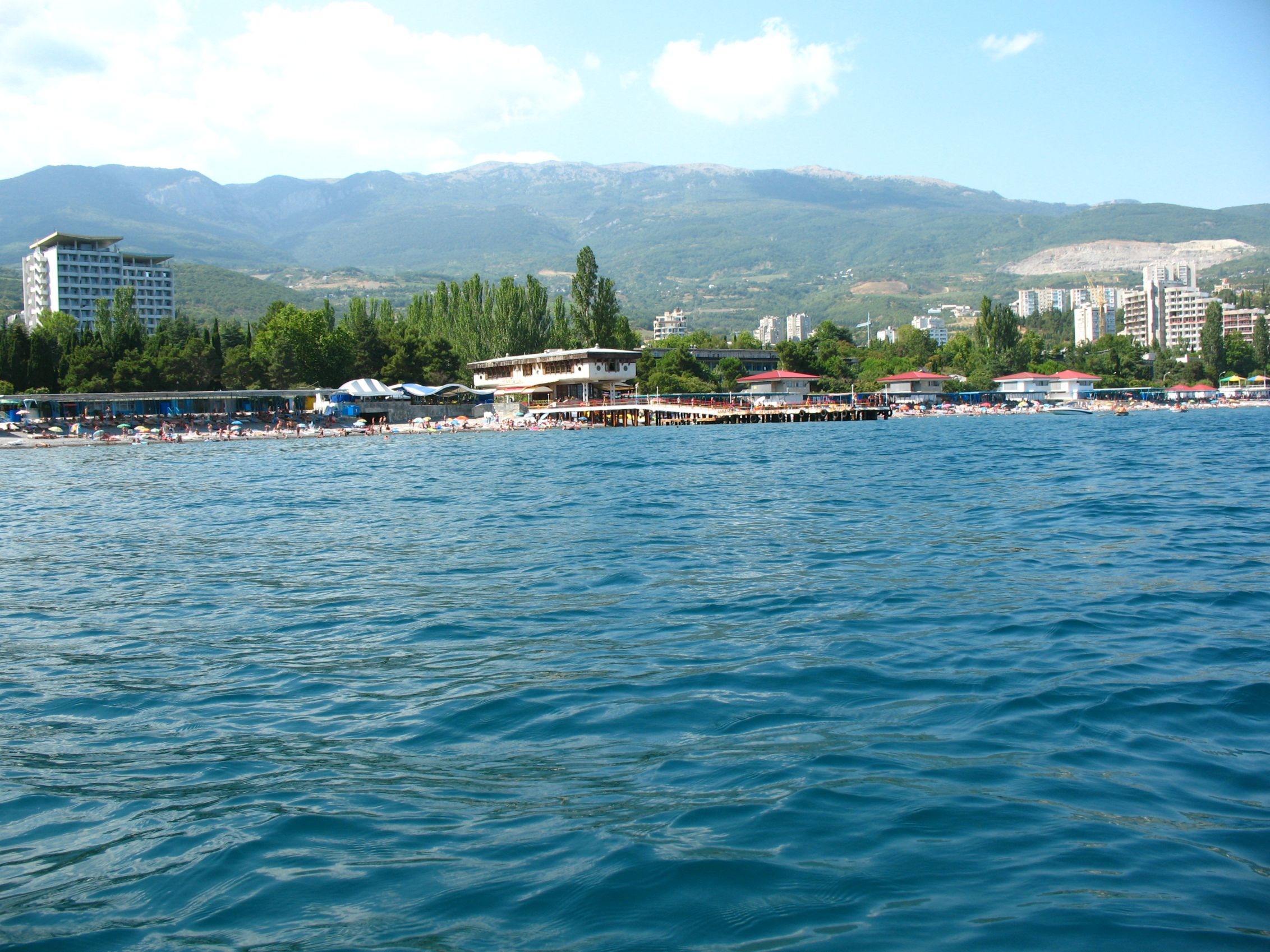 Крым, курортный сезон-2010