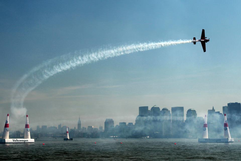 Red Bull Air Race в Нью Йорке