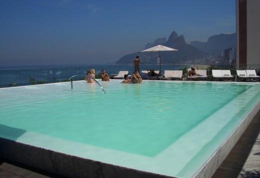 Бассейн Отеля Fasano в Рио-де-Жанейро