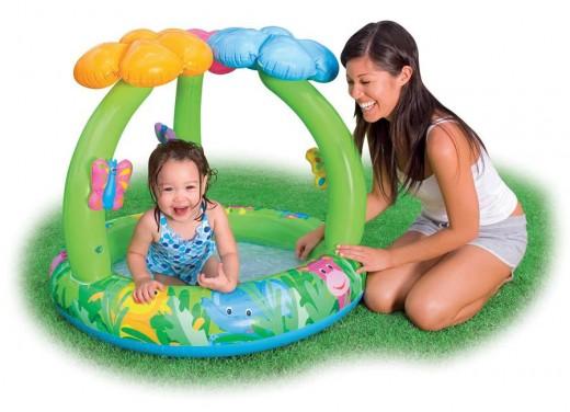 Надувной бассейн - для детей и взрослых
