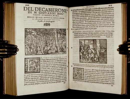«Декамероне» итальянского писателя Джованни Боккаччо
