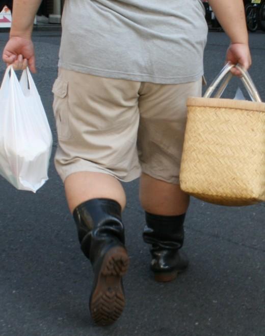 Избыточный вес приводит к слабоумию
