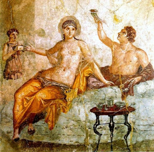 Чем и как питались древние римляне?