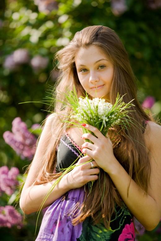 Хочешь быть красивой — выращивай цветы!