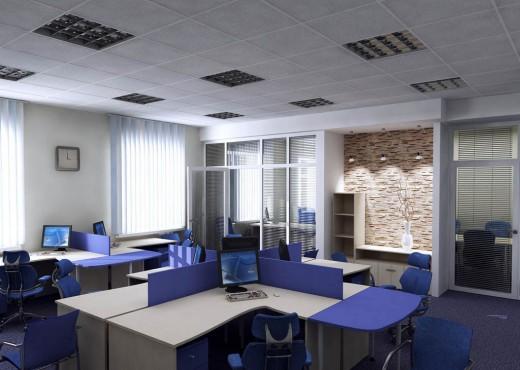 Цветовая гамма современного офиса