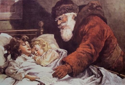 Дед Мороз, Санта-Клаус, он же Николай.