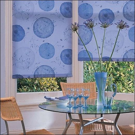 Рулонные шторы: лаконичная красота