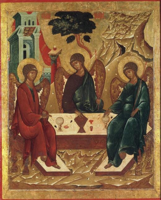 В воскресенье — праздник Святой Троицы, в понедельник — Духов день