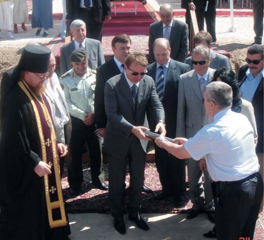 ОАО «Совфрахт» принял участие в продолжении традиций «Русской Палестины»