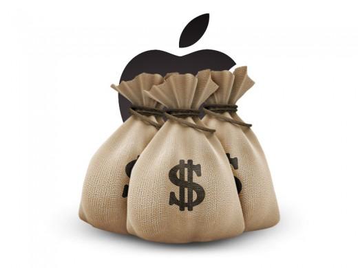 Apple бьет финансовые рекорды Microsoft
