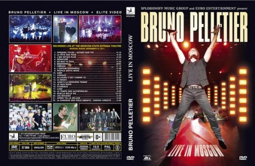"Euro Entertainment и Sploshnoff Music Group приглашают на презентацию концертного DVD ""Bruno Pelletier Live in Moscow"""