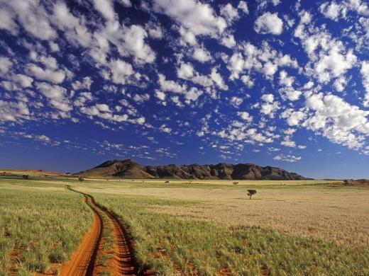 Отдых на бескрайних просторах Намибии