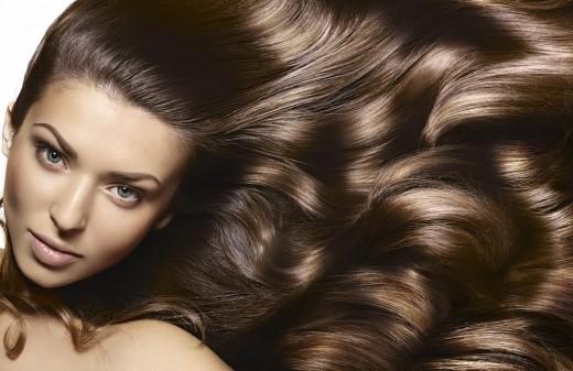 Блестящие волосы - признак здоровья