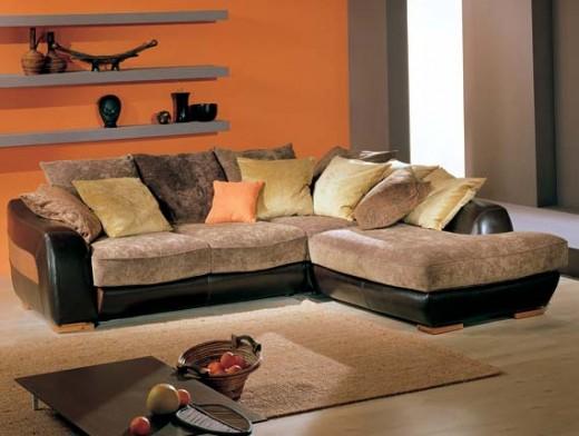 Новый диван - чтобы было хорошо лежать дома в осеннюю непогоду