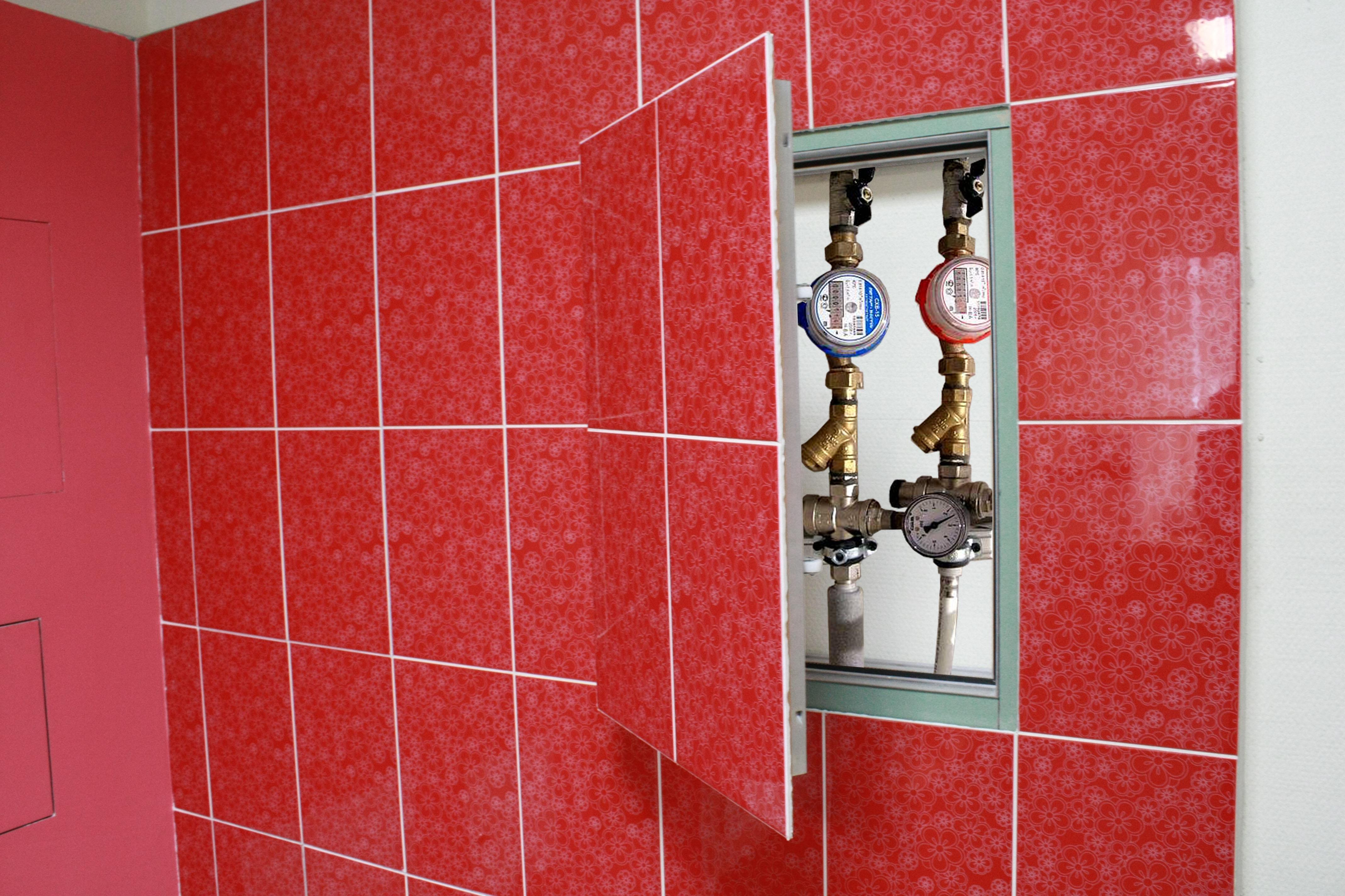 Как сделать люк невидимку в ванной 247