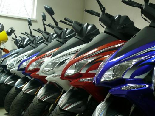 Прокат и аренда скутеров
