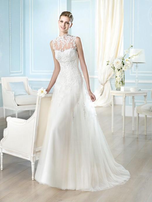 Свадебные платья 2014 – модные тенденции