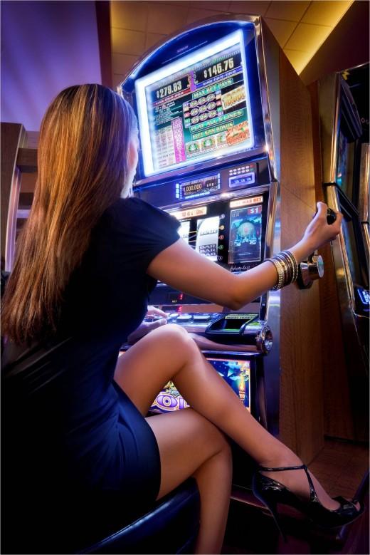 Игровые автоматы – взгляд мужчин и женщин