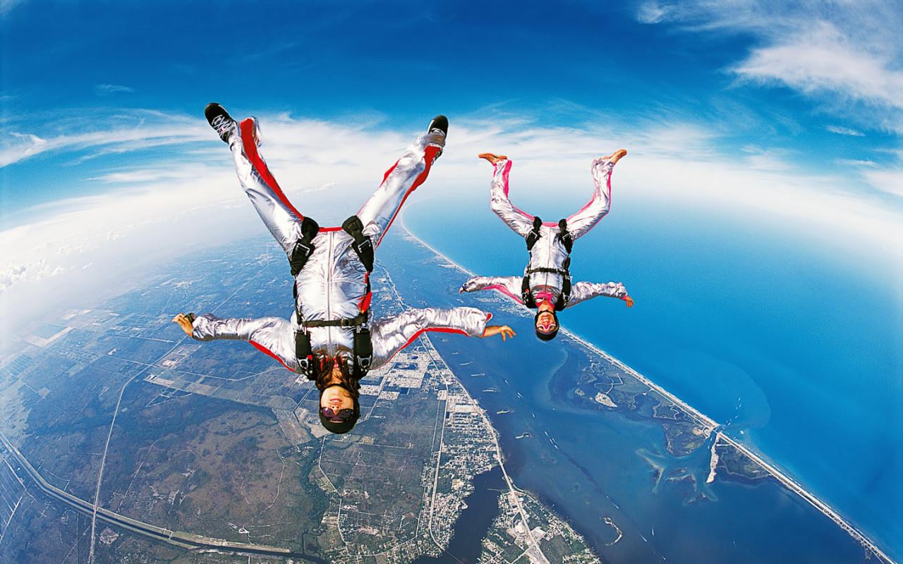 своим существом парашютные прыжки фотографии в хорошем качестве девочки