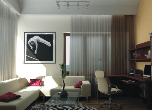 Дизайн 2х-комнатной квартиры
