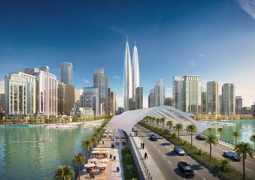 Самые высокие в мире башни близнецы построят в Дубае