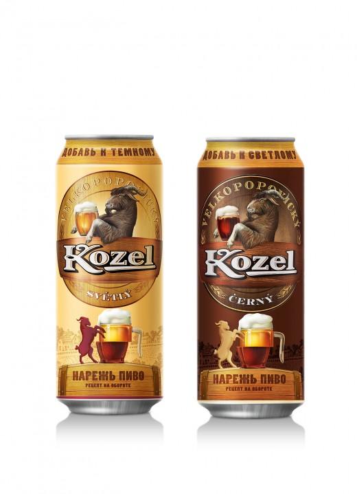 Velkopopovicky Kozel: режем, но не смешиваем