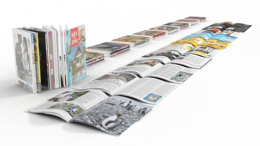 Различные методы печати журналов
