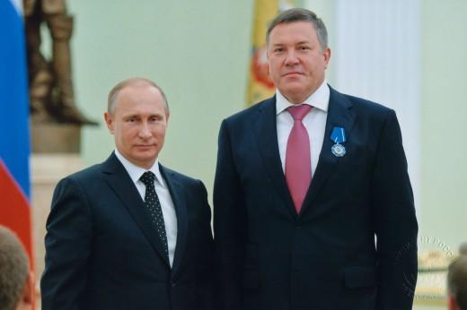 Глава Вологодской области награжден орденом Почета Указом президента РФ