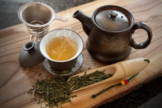 Чай: родом из Азии