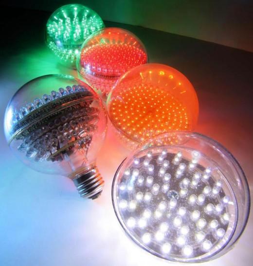 Светодиодные лампы: преимущества