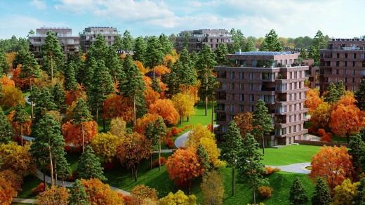 ЖК «Парк Рублево» компании ОПИН был признан Самым экологичным жилым комплексом в черте города