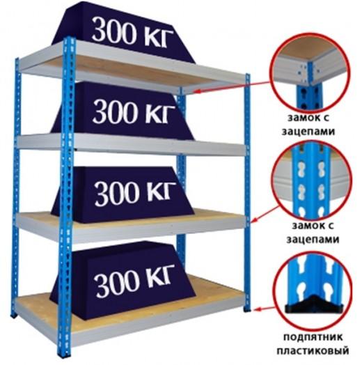 Металлические стеллажи от производителя - компания «Склад-Мебель»