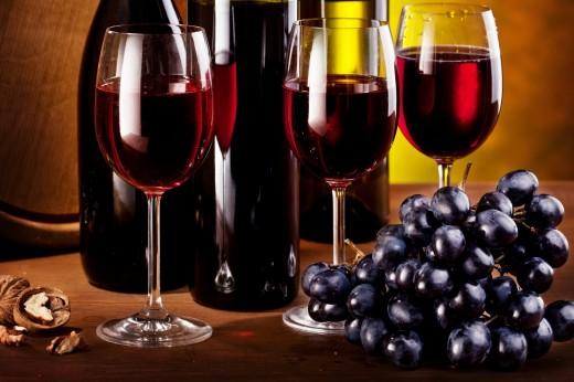 Вино из черного винограда помогает быстро убрать лишний жир