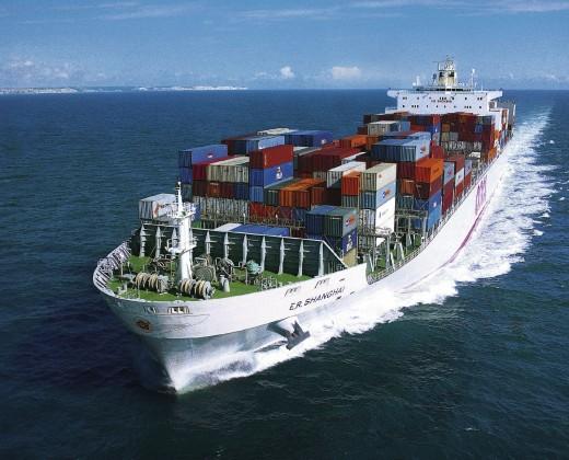 Особенности перевозки грузов по морю