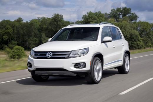 Volkswagen Tiguan стал самым популярным кроссовером в Германии