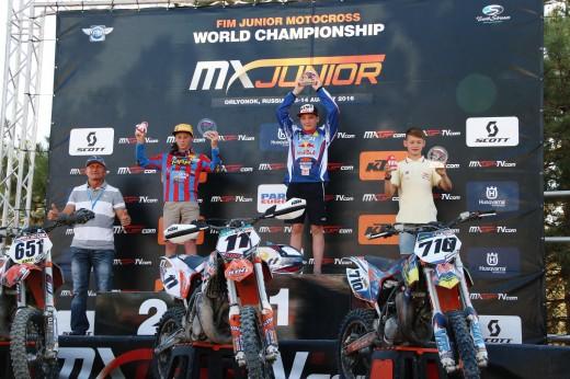 Чемпионы мира по мотокроссу среди юниоров определились на российской трассе!